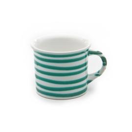 Koffiebeker Geflammt groen - 0,24 l
