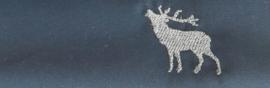 Mondkapje Hert - effen donkerblauw