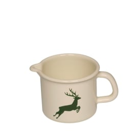 Pan met schenktuit hert groen - 0,5 liter
