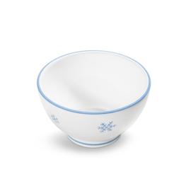 Mueslischaal groot Sneeuwkristal blauw - 14 cm