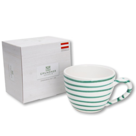 Theebeker Maxima  Geflammt groen - 0,4 l cadeauverpakking
