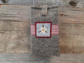 Telefoonhoesje Edelweiss - rood