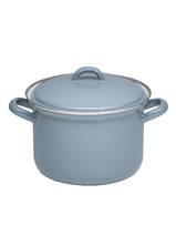 Hoge pan klassiek grijs - 1,5 liter