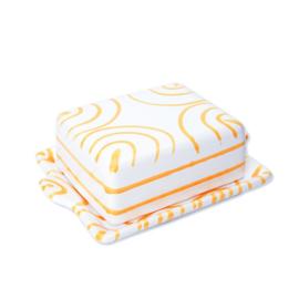 Botervloot Geflammt geel - 125 gram