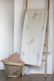 Deken skiërs & langlaufers - 140 x 200 cm