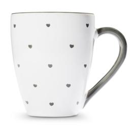 Koffiebeker Max Hartjes grijs - 0,3 l