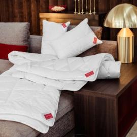 Zirben slaapkussen met schapenwol en Zirbe - 40 x 80 cm