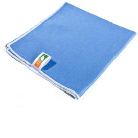 Microvezeldoekje blauw