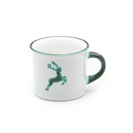 Koffiebeker Hert groen - 0,24 l