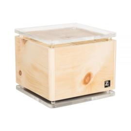 Luchtreiniger ZirbenLüfter® Cube rondo kristal