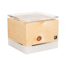 Luchtreiniger ZirbenLüfter® Cube  Salzburg kristal