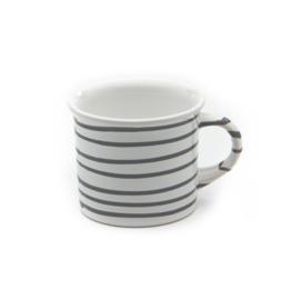 Koffiebeker Geflammt grijs - 0,24 l