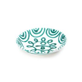 Soepbord Geflammt groen - 20 cm