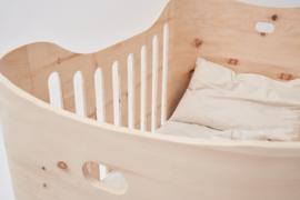 Babybed Benni's Nest MINI van Zirben hout - compleet