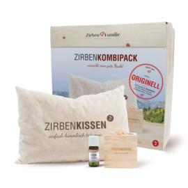 ZirbenFamilie 'Gute Nacht Set' - cadeautip!