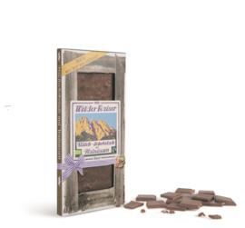 Melk chocolade met bio walnoten
