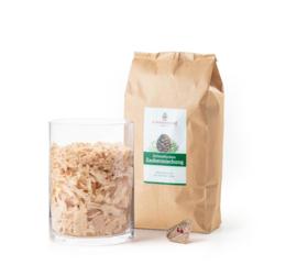 Zirben vlokken - houtkrullen magische mix - 400 gram