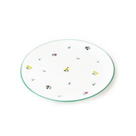 Dinerbord Alpenbloemen - 25 cm