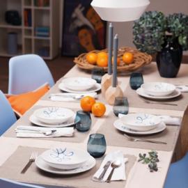 Ontbijt voor twee set - Pur Geflammt blauw cadeauverpakking