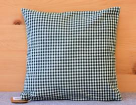 Set kussenhoes & polyester vulling - Gerry hert groen | 30 x 30 cm