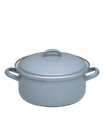 Lage pan klassiek grijs - 2 liter