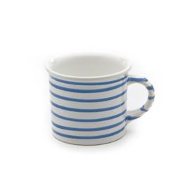 Koffiebeker Geflammt blauw - 0,24 l