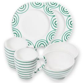 Berghut ontbijt set voor 2 - gourmet Geflammt groen