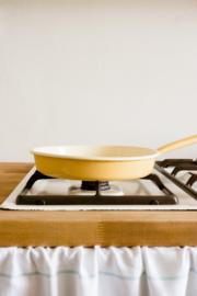 Omeletpan goudgeel - 22 cm