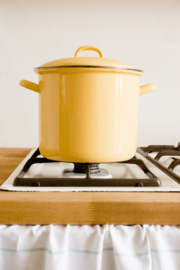 Hoge pan goudgeel - 4 liter