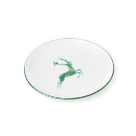 Dessertbord Hert groen - 20 cm