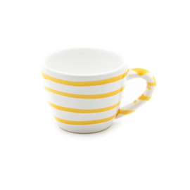 Espressokopje Geflammt geel - 0,06 l