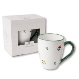 Koffiebeker Max - Alpenbloemen cadeauverpakking