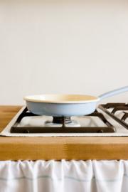 Omeletpan lavendelblauw - 20 cm