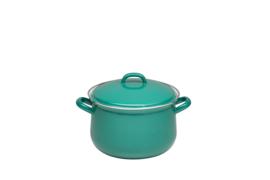 Hoge pan natuurlijk donkergroen - 3,5 liter