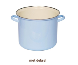 Hoge pan lavendelblauw - 3 liter