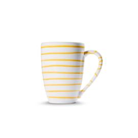 Koffiebeker Supermax - Geflammt geel 0,5 l