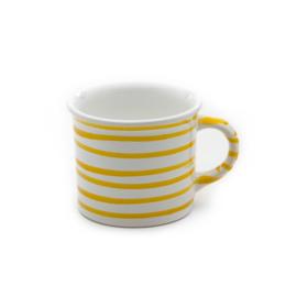Koffiebeker Geflammt geel - 0,24 l