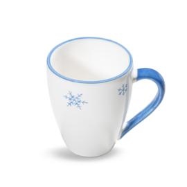 Koffiebeker Max Sneeuwkristal blauw - 0,3 l