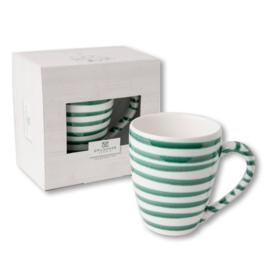 koffiebeker Max Geflammt groen - 0,3 l cadeauverpakking