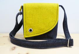 Handtas - Alpenglühen geel