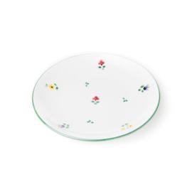 Dessertbord Alpenbloemen - 20 cm