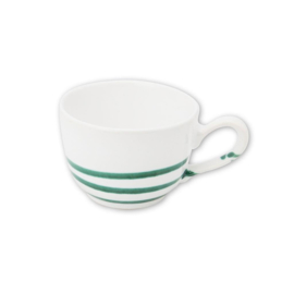 Koffiekopje Pur Geflammt groen - 0,19 l