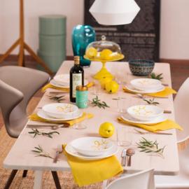 Diner voor twee set - Pur Geflammt geel cadeauverpakking