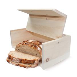 Broodtrommel van Zirben hout