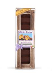 Donkere chocolade met bio hazelnoten