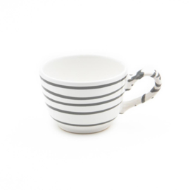 Koffiekopje Geflammt grijs - 0,19 l