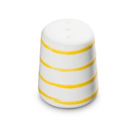 Peperstrooier recht - Geflammt geel