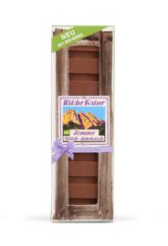 Zomer chocolade met bio munt