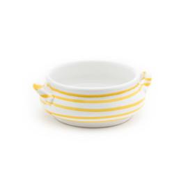 Soepkom geel Geflammt - 0,37 l