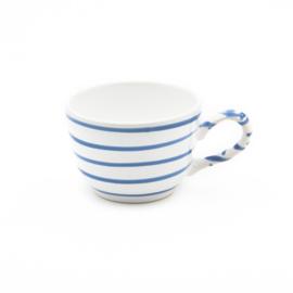 Koffiekopje Geflammt blauw - 0,19l